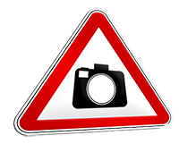 Symbol Achtung Foto